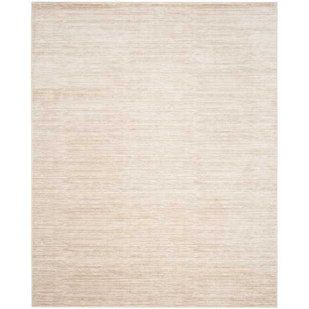 Vision Cream (Ivory) 9 ft. x 12 ft. Area Rug - Home Depot