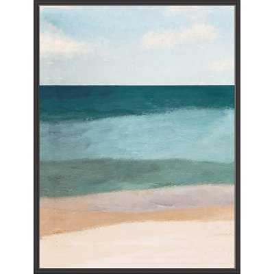 'Ocean View' Framed Graphic Art Print - Wayfair