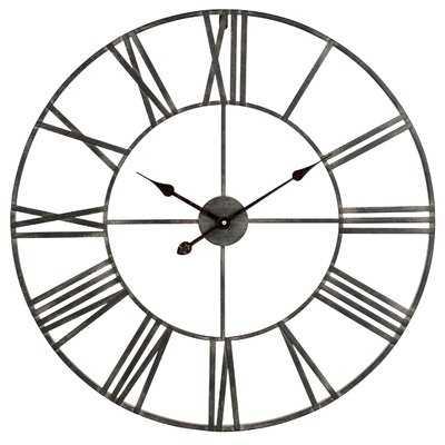 "Oversized Eisenhauer 30"" Wall Clock - Birch Lane"