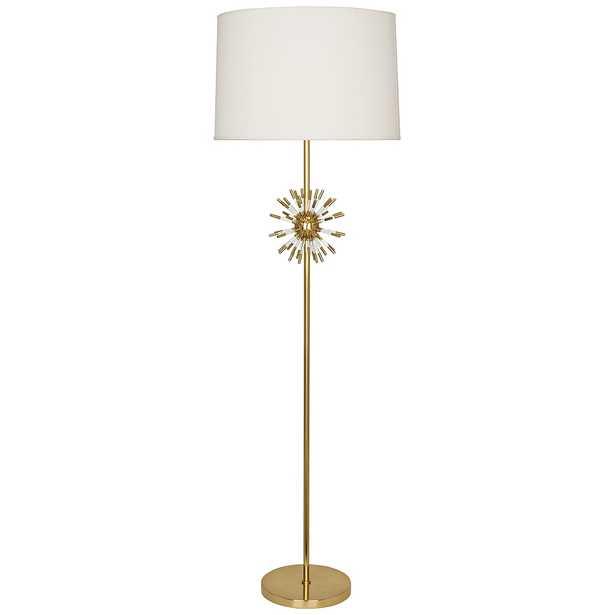 Robert Abbey Andromeda Modern Brass Floor Lamp - Style # 41C70 - Lamps Plus