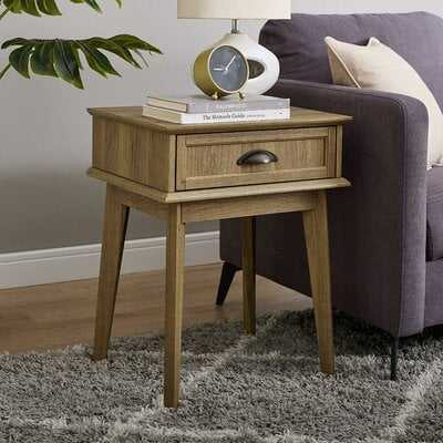 Cabral End Table with Storage - Wayfair