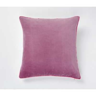 Wisteria Velvet Throw Pillow - Wayfair