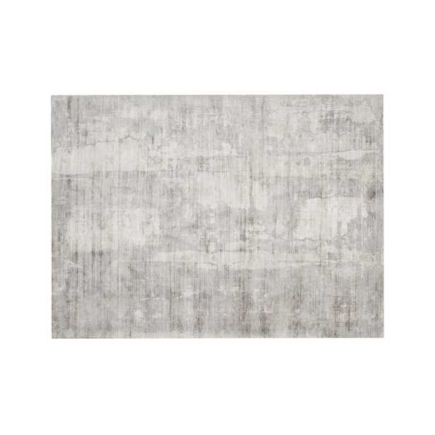 Tottori Grey Abstract Rug 10'x14' - Crate and Barrel