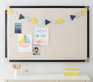 Navy Campaign Pinboard - Pottery Barn Kids