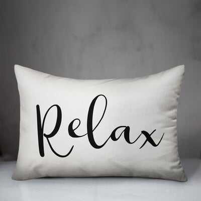 Garris Relax Indoor/Outdoor Lumbar Pillow - Wayfair