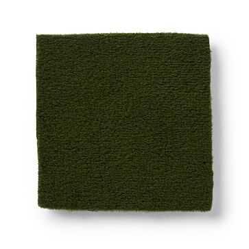Fabric by the Yard - Performance Velvet, Moss - West Elm