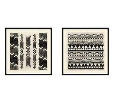 Global Textile Print, Set of 2 - Pottery Barn