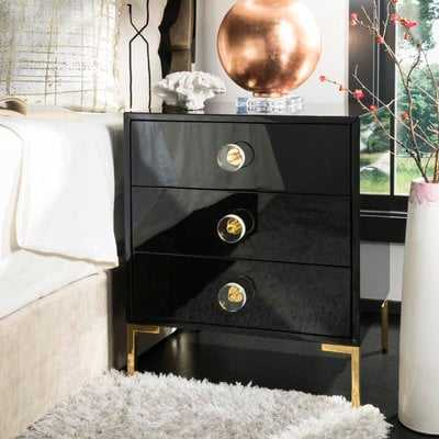 Kuhlman 3 Drawer End Table with Storage - Wayfair