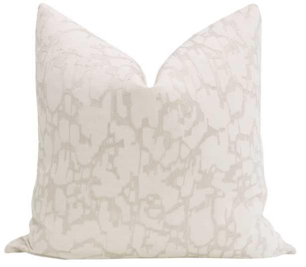 Pastiche Linen // Cashmere - 20x20 - Little Design Company