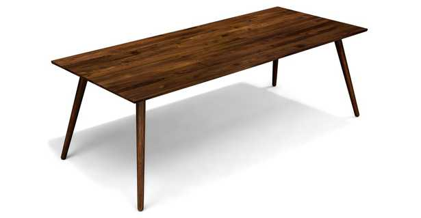 Seno Walnut Dining Table For 8 - Article