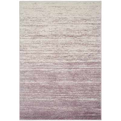 Connie Purple/Cream Area Rug - Wayfair