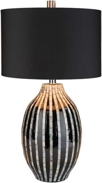 Hollins 26.4 x 14.2 x 14.2 Table Lamp - Neva Home