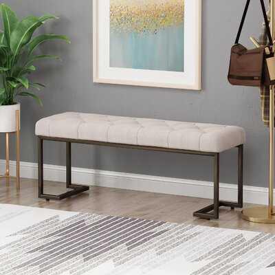 Palombo Upholstered Bench - Wayfair