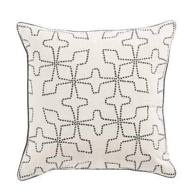 Living Greta Geometric Linen Throw Pillow - Wayfair