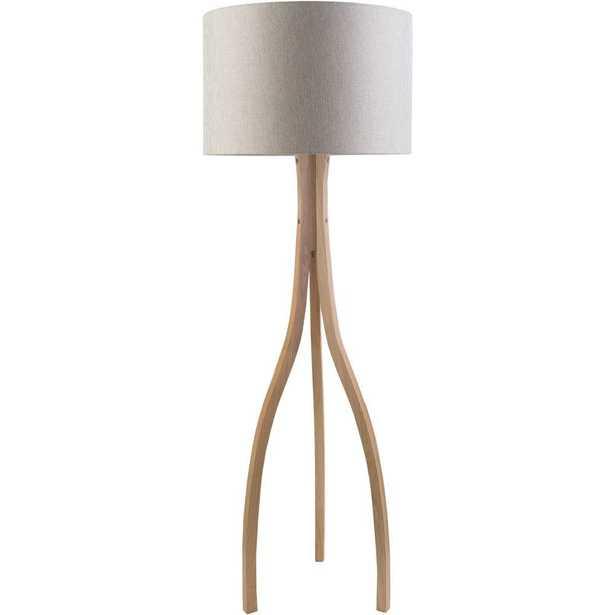 Artistic Weavers Benerito 60 in. Natural Wood Indoor Floor Lamp - Home Depot
