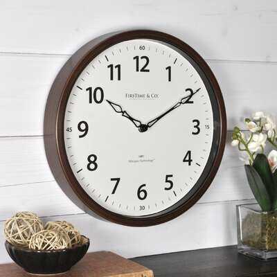 """Nolan Whisper 12"""" Wall Clock - Wayfair"""