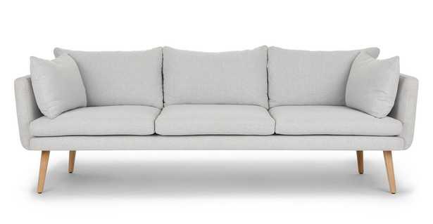 Celsa Drizzle Gray Sofa - Article