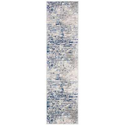 Muro Ivory/Blue Area Rug - Wayfair