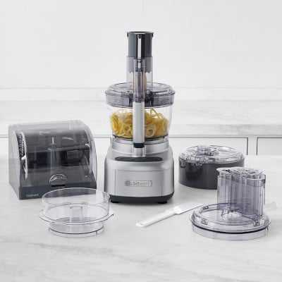 Cuisinart 13-Cup Elemental Food Processor, Stainless-Steel - Williams Sonoma
