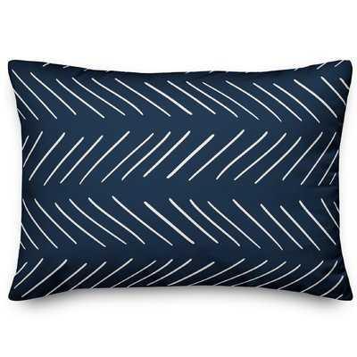 Erico Modern Chevron Lumbar Pillow - Wayfair