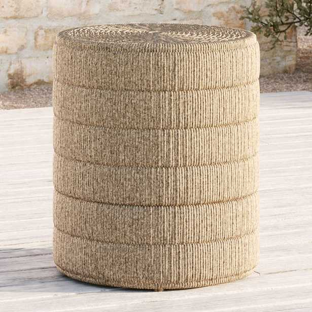 Madura Woven Outdoor Side Table - Crate and Barrel
