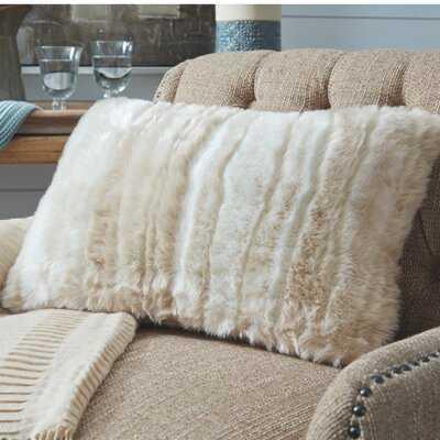 Wilson Faux Fur Throw Pillow - Wayfair