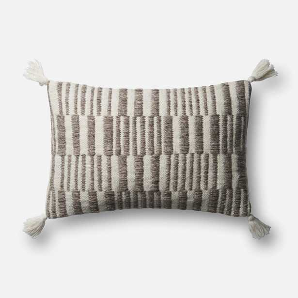 """PILLOWS - BROWN / NATURAL - 13"""" X 21"""" Cover Only - Loma Threads"""