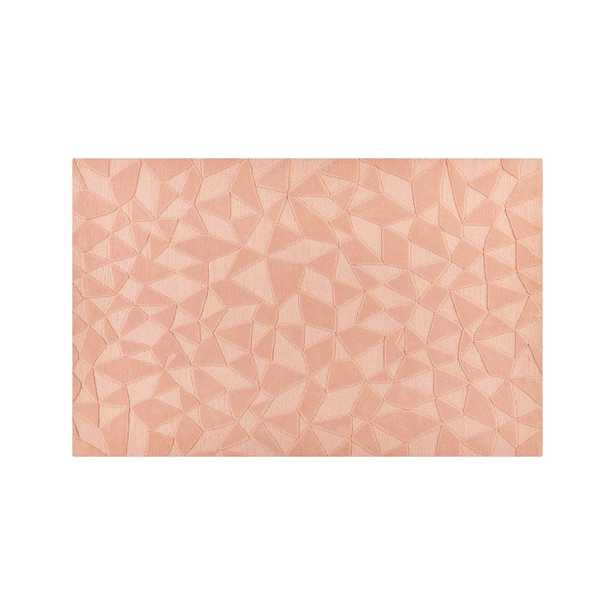 Modern Solid Pink Rug 8'x10' - Crate and Barrel