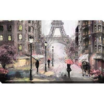'Paris Streets II' Print on Canvas - Wayfair