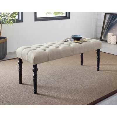 Evelin Tufted Upholstered Bench - Wayfair
