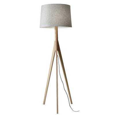 "Budde 59.25"" Tripod Floor Lamp - AllModern"