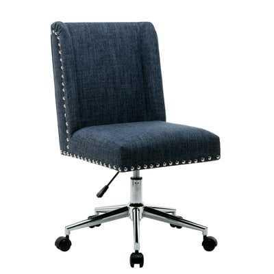 Lewisburg Studded Design Office Chair - Wayfair