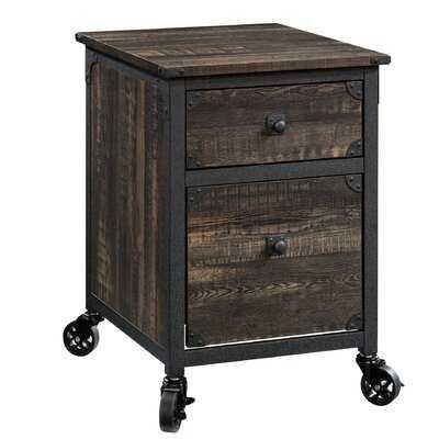 Rushton 2-Drawer Mobile Vertical Filing Cabinet - Wayfair