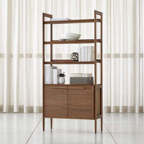 Tate Bookcase Cabinet - Crate and Barrel