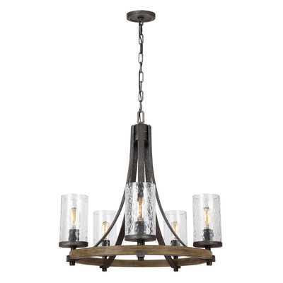 Zaria 5-Light Candle-Style Chandelier - Wayfair