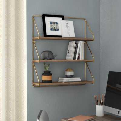 Trista 3-Tier Wall Shelf - Wayfair