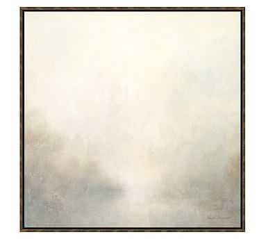 "Warm Landscape Framed Canvas, 36 x 36"" - Pottery Barn"