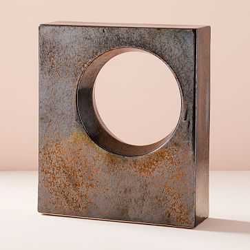 Ceramic Cube Objects, Crystal, Large - West Elm