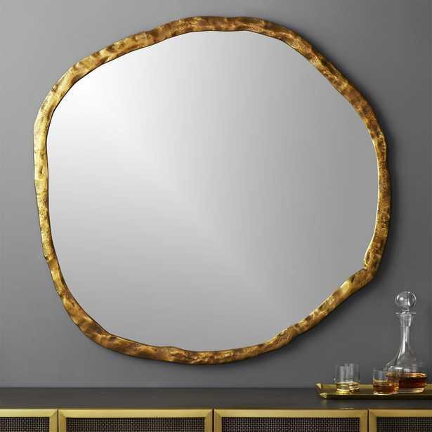 """""""Abel Round Mirror 48"""""""""""" - CB2"""