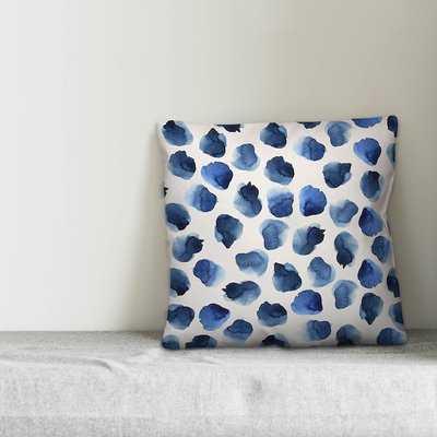 Silverview Watercolor Dots Throw Pillow - Wayfair