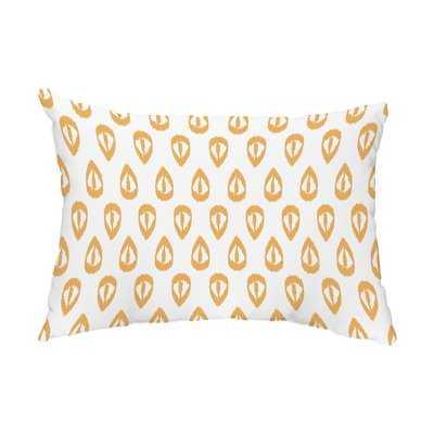 Albin Ikat Tears Indoor/Outdoor Lumbar Pillow - Wayfair