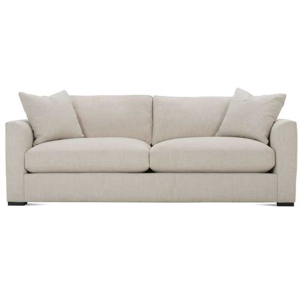 Derby Modern Classic Bone White Upholstered Sofa - Kathy Kuo Home