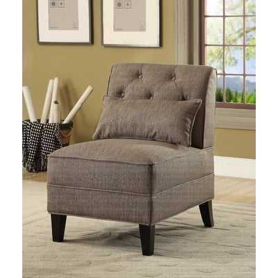 Carrie Slipper Chair - Wayfair