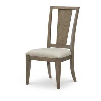 Whicker Upholstered Dining Chair (Set of 2) - Wayfair