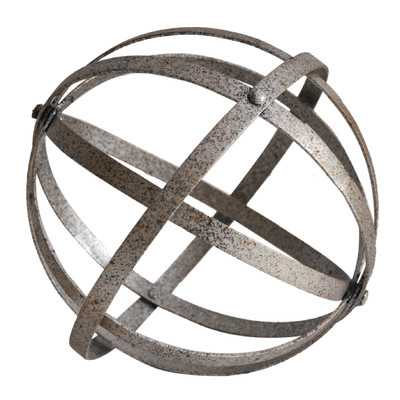 Juanita Metal Folding Orb Sculpture - AllModern