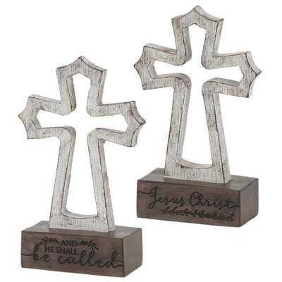 Hibbing Names of Jesus Tabletop Cross - Wayfair