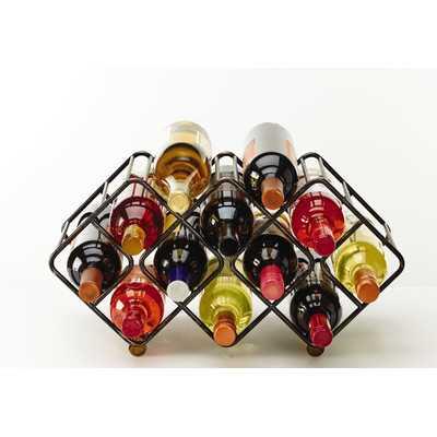12 Bottle Tabletop Wine Rack - AllModern