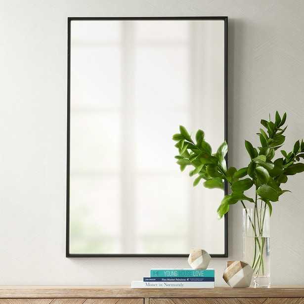 "Andrew Black 24"" x 36"" Rectangular Mirror - Style # 9R379 - Lamps Plus"