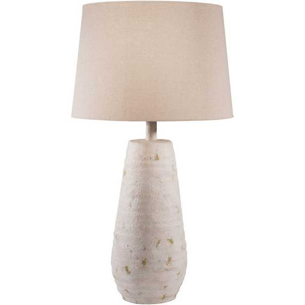 Artistic Weavers Nelson 26 in. Antiqued White Indoor Table Lamp - Home Depot