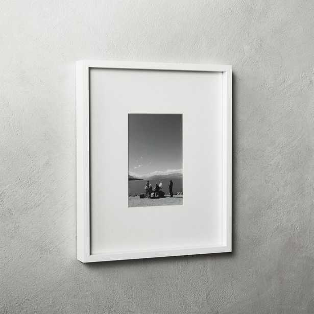 Gallery White Frame with White Mat - CB2